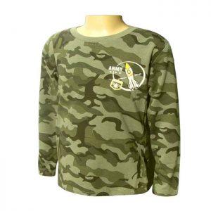 8ea5bb40befd detské maskáčové tričko s dlhým rukávom pre menšie deti army shop