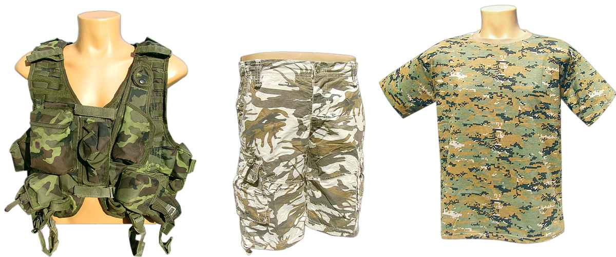 army shop maskáče